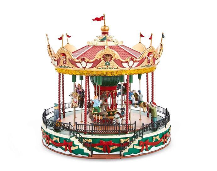 Lemax **carnival scenes**, $99.99.