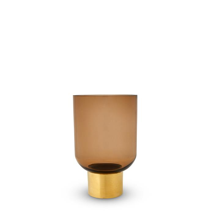 "Marmoset Found 'Luxor' Vase in Butterscotch, $49, [RJ Living](https://www.rjliving.com.au/buy-luxor-vase-butterscotch-s.html|target=""_blank""