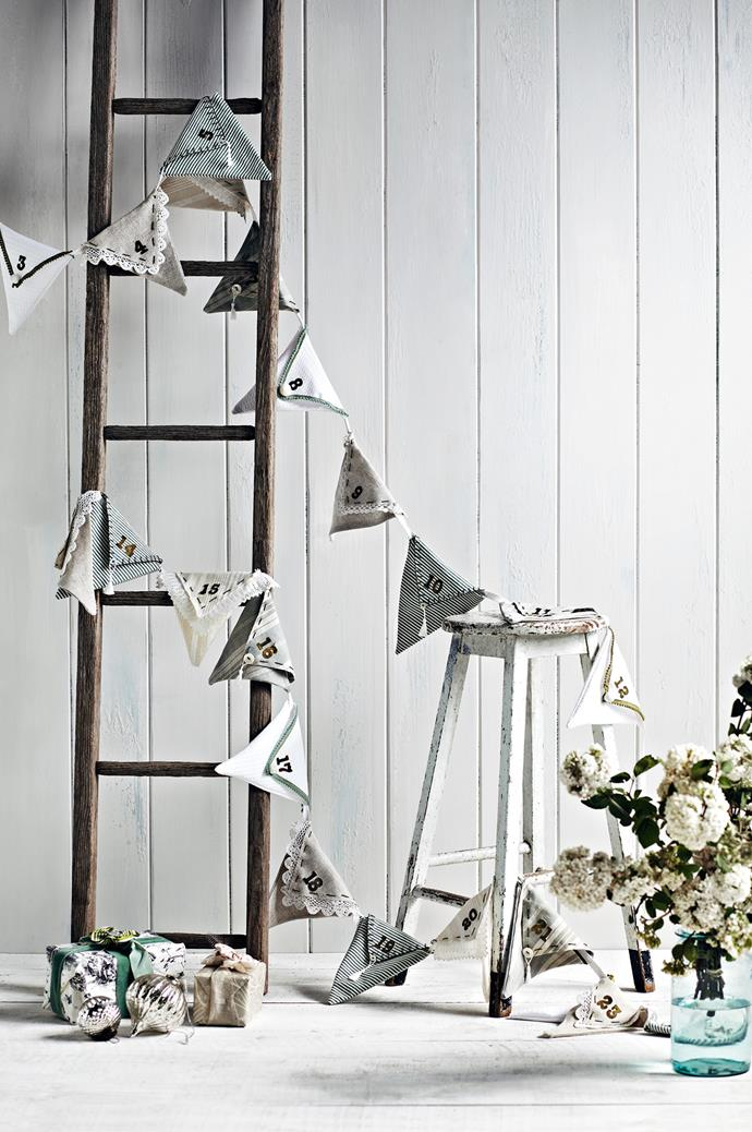 ">> [How to make advent calendar bunting for Christmas](https://www.homestolove.com.au/how-to-make-advent-calendar-bunting-for-christmas-10190|target=""_blank"")"