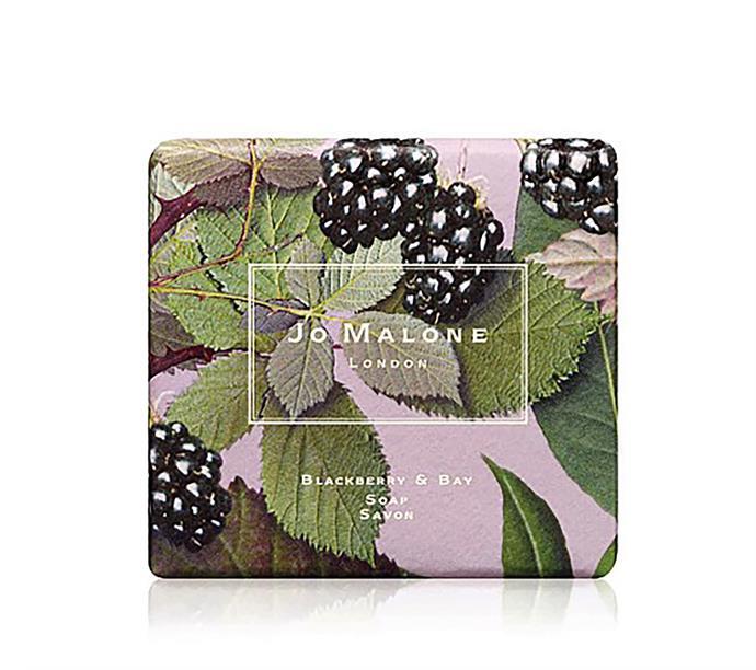 "Jo Malone blackberry and bay bath soap, $32, from [David Jones](https://www.davidjones.com/brand/jo-malone-london/20929743/Blackberry-And-Bay-Bath-Soap.html|target=""_blank""|rel=""nofollow"")"