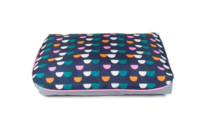 """'Happy Tails' Bright Days pet bed, $30, [Bunnings](https://www.bunnings.com.au/happy-tails-80-x-50cm-bright-days-pet-bed_p0087075