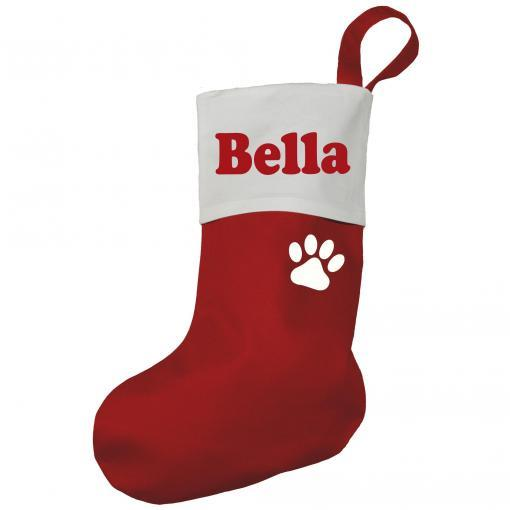 """Xmas Stocking with Paw, $29.99, [PetStock](https://www.petstock.com.au/product/dog/xmas-stocking-with-paw/69805
