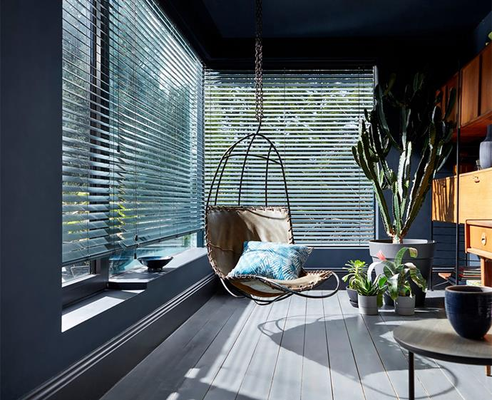Venetian blinds are the perfect pick for sunny rooms, allowing ample light to stream with easy upkeep an added benefit.