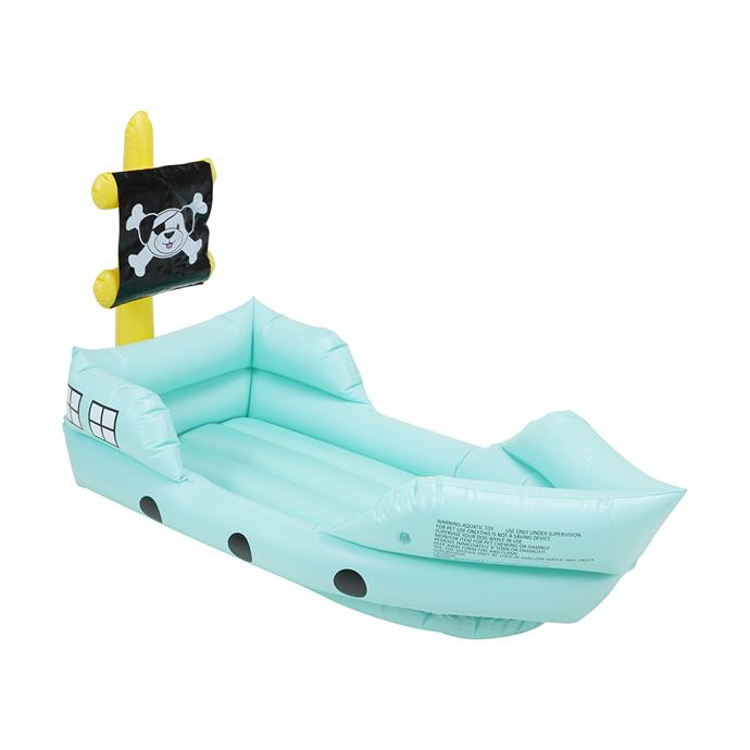 """Inflatable Dog Boat, $19, [Kmart](https://www.kmart.com.au/product/dog-inflatable-boat/2739301