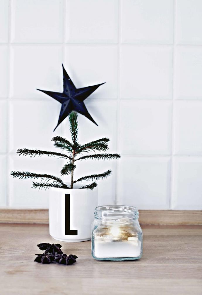 """Of course, a stylist's Christmas is characterised by creative ideas and seasonal [vignettes](https://www.homestolove.com.au/how-to-style-a-vignette-5757
