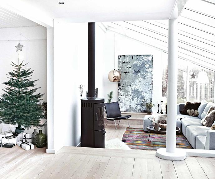 A Nordic home filled with Scandi-style Christmas decor ideas