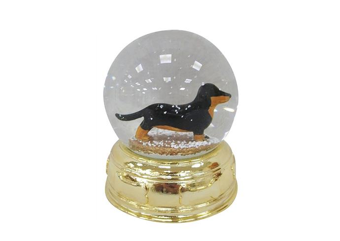 "Resin dachshund dog waterglobe, $19.95, from [David Jones](https://www.davidjones.com/Product/22621768/9cm-Resin-Dachshund-Dog-Waterglobe|target=""_blank""