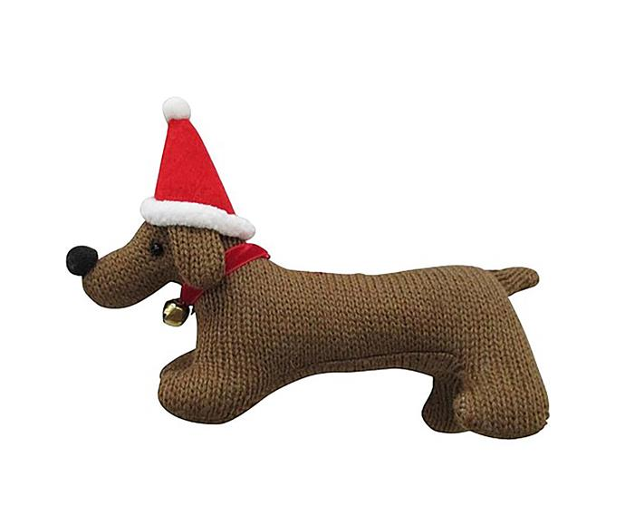 "Fabric sausage dog ornament, $9.95, from [David Jones](https://www.davidjones.com//22621700/Fabric-Sausage-Dog-Ornament.html|target=""_blank""