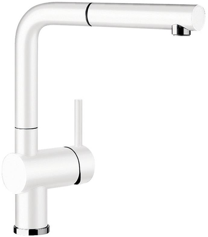 "Blanco LINUSSW kitchen mixer with pull put tap, $528, [Appliances Online](https://www.appliancesonline.com.au/product/blanco-linussw-kitchen-mixer-with-pull-out-tap|target=""_blank""