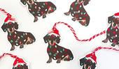 11 dashing dachshund Christmas decorations