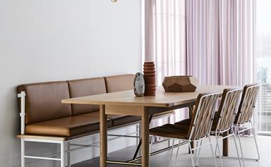 This modern family home celebrates luxe Scandi style