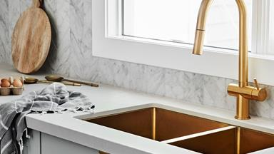 Kitchen and bathroom tapware trends for 2020