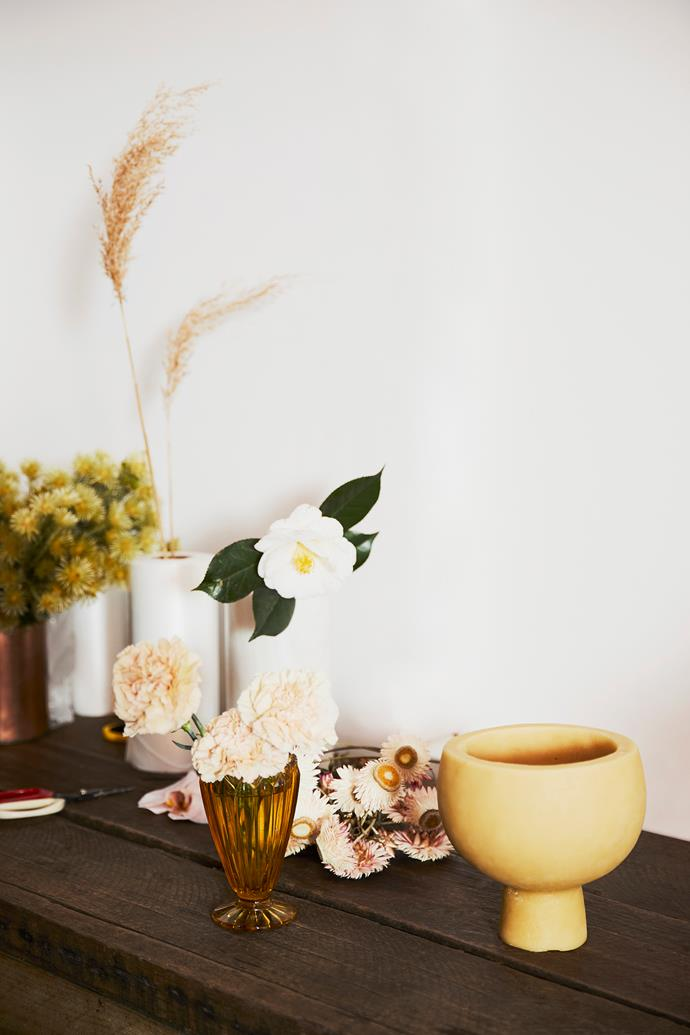 """""""Flowers are a luxury so we do our best to ensure what we create arrives to our customer and leaves them smiling,"""" Myra says."""