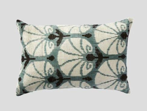 "Sevmek Silk Velvet Cushion, $170 at [Cultiver](https://cultiver.com.au/collections/cushions/products/sevmek-silk-velvet-cushion|target=""_blank""