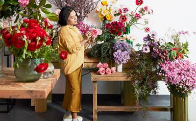 Creative we love: florist Myra Perez from My Violet