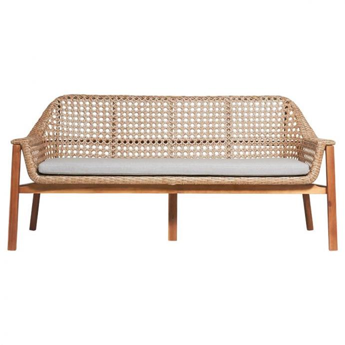 "Copacabana Outdoor Sofa, $1250, [Matt Blatt](https://www.mattblatt.com.au/copacabana-outdoor-sofa|target=""_blank""|rel=""nofollow"")"