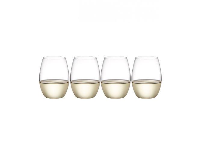 "Outdoors Stemless 'White' glasses, $34.95 (pack of four), [Plumm](https://www.plumm.com/plumm/outdoors-polycarbonate-wine-glasses/Plumm-Outdoors-Stemless-White-4-packs-per-carton-PLUOTPG5520|target=""_blank""|rel=""nofollow"")"