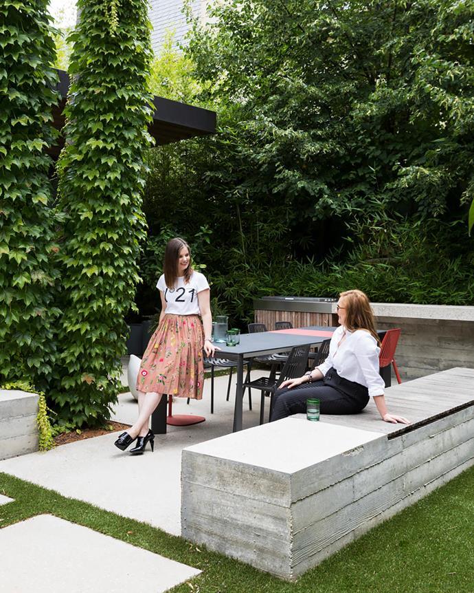 Interior designer Adele Bates (below, left) and architect Olena MacCallum (below, right).