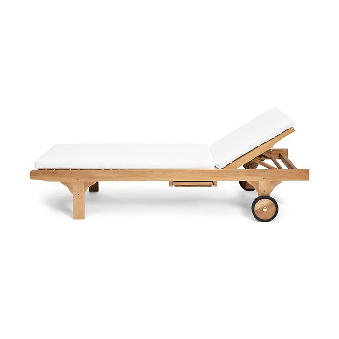 "Timber sun lounge, $1499, [Harpers Project](https://www.harpersproject.com/products/timber-sun-lounge|target=""_blank""