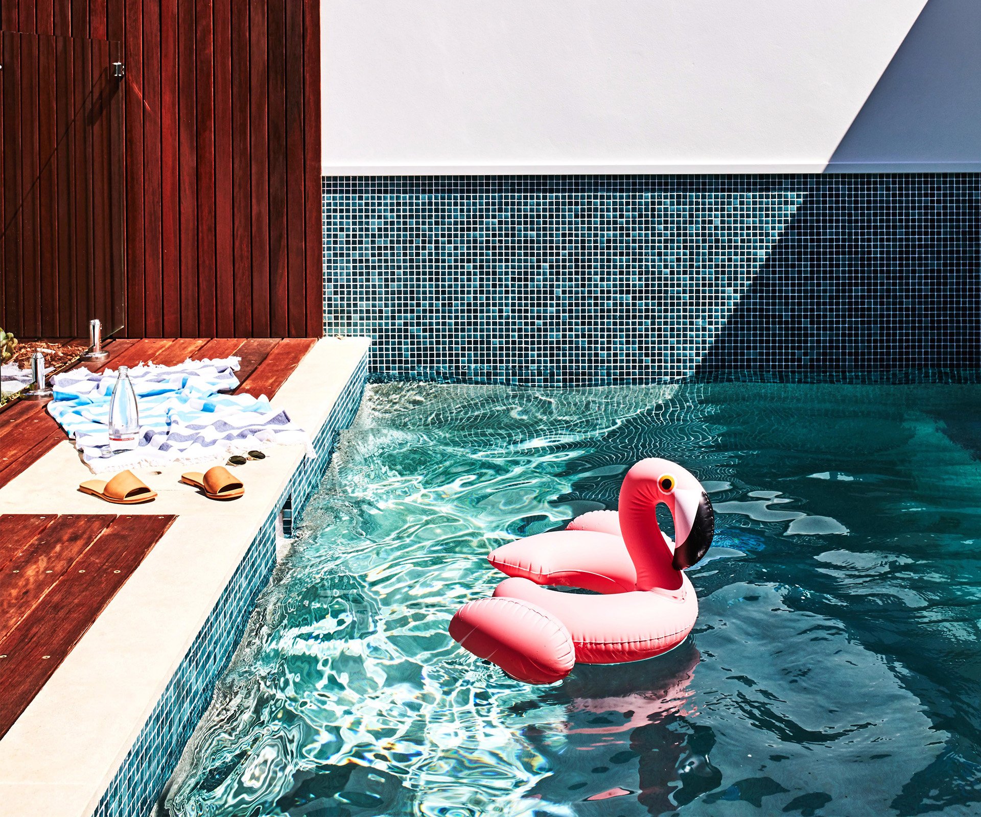 Pool furniture and accessories for summer fun | real living