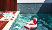 Splash out: The latest pool furniture and toys