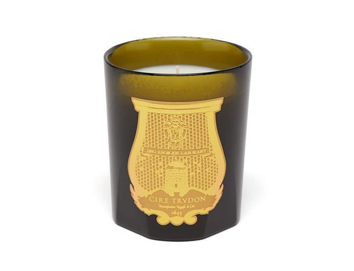 "Cire Trudon Gabriel scented candle, $135, from [Agence de Parfum](https://agencedeparfum.com.au/|target=""_blank""