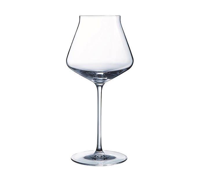 """Palm wine monogram single glass, $74.99, from [ZÓ](https://zopersonalised.com/