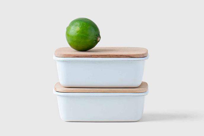 "Orez small food storage container, $34 USD, [Marie Kondo](https://shop.konmari.com/collections/cooking-kitchen/products/konmari-kitchen-tidying-orez-small-food-storage-container|target=""_blank""