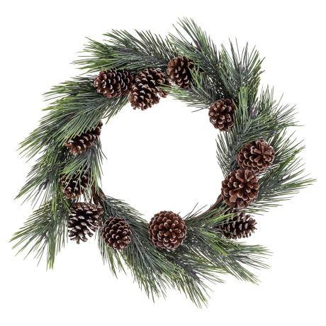 "Pine wreath, $149, from [Freedom](https://www.freedom.com.au/offers/special/homewares/24219020/pine-wreath-61cm?reflist=Product%20Search%20Listing|target=""_blank""