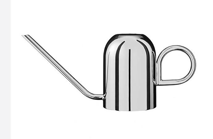 """AYTM Vivero Brass Watering Can, $189, from [Designstuff](https://www.designstuff.com.au/aytm-vivero-brass-watering-can/