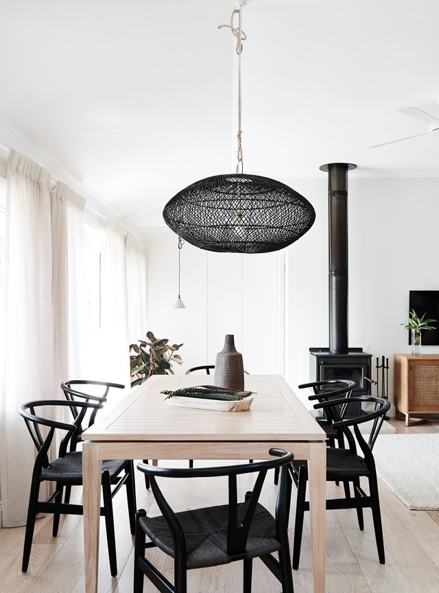 "[**The Bails, northern NSW**](https://www.homestolove.com.au/the-bails-byron-bay-20901|target=""_blank"")<p>  <p>A Sydney couple have transformed an old cottage into a modern holiday home called The Bails. The two-bedroom abode, on a former dairy-turned-mango farm on the outskirts of Bangalow, is now available as deluxe accommodation for limited dates throughout the year. Relax on the large covered deck or in the plunge pool made from a repurposed concrete water tank and enjoy breathtaking views of the Byron Bay hinterland."
