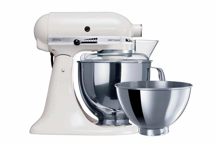 """**KitchenAid classic stand mixer, $349 (originally $849), [Kogan](https://www.kogan.com/au/buy/kitchenaid-ksm45-classic-stand-mixer-white-5ksm45awh-kitchenaid/