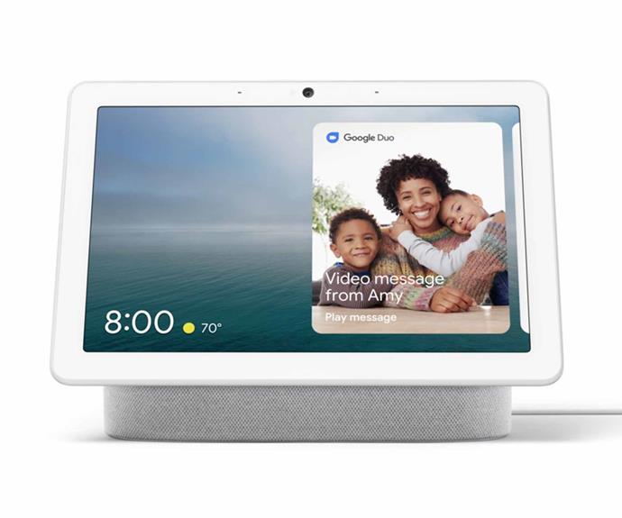 """**Google Nest Hub max, [Google](https://store.google.com/