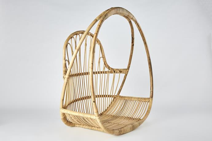 """Tropical Hanging Chair, [CLO Studios](https://clostudios.com.au/collections/furniture/products/tropical-hanging-chair