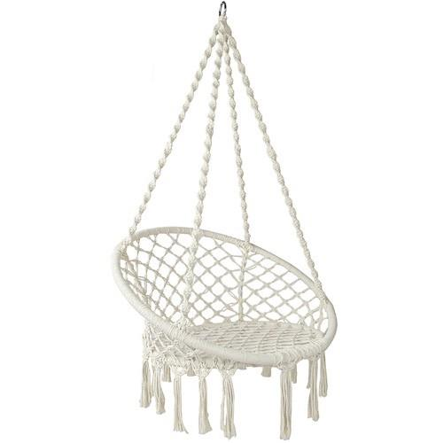 "Dwell Outdoor Hammock Swing Chair, $64.95, [Temple & Webster](https://www.templeandwebster.com.au/Hammock-Swing-Chair-ILIF4415.html|target=""_blank"")"
