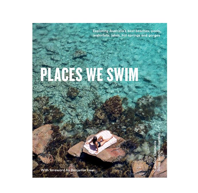 "Places We Swim by Dillon Seitchik-Reardon  Caroline Clements, $30.90, from [Booktopia](https://www.booktopia.com.au/places-we-swim-dillon-seitchik-reardon/book/9781741175660.html?irclickid=2bGT9W06ixyOTlD0W2SX%3Awd2Ukn3RJTHtX1u1E0&SUBID1=&SUBID2=&irgwc=1&utm_campaign=Hardie%20Grant&utm_medium=affiliate&utm_source=Impact/|target=""_blank""