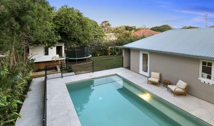 Splash around in this pristine pool in Wavell Heights, QLD, for $50 an hour.