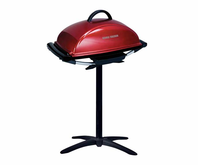 "George Foreman indoor/outdoor barbecue grill in Red, $88, [Catch](https://www.catch.com.au/|target=""_blank""