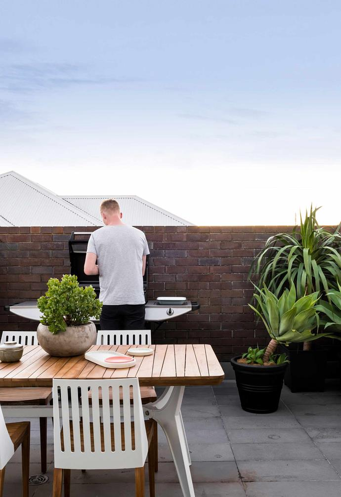 "On the rooftop of this Perth home by [Klopper & Davis Architects](https://www.kada.com.au/|target=""_blank""