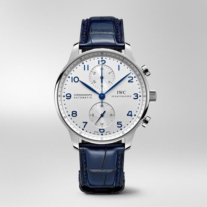 IWC 'Portugieser' chronograph.
