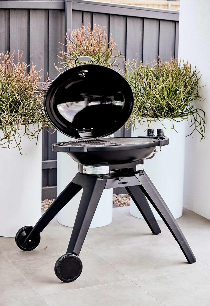 A portable barbecue is great for compact outdoor spaces as well as household that move frequently.