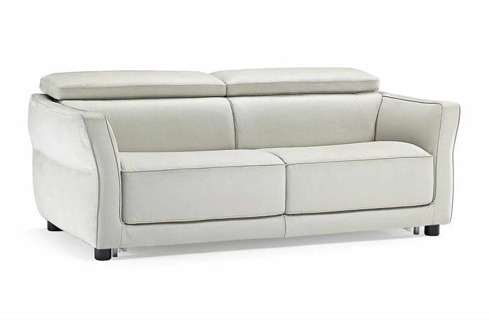 "'Notturno' sofa bed, $4820, [Natuzzi](http://www.natuzzi.com.au/|target=""_blank""|rel=""nofollow"")"