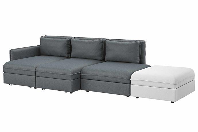 "'Valentuna' sofa bed, $2175, [IKEA](https://www.ikea.com/au/en/catalog/categories/series/35179/|target=""_blank""|rel=""nofollow"")"