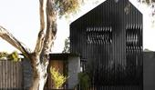 A strikingly modern home that embraces contrasting design elements