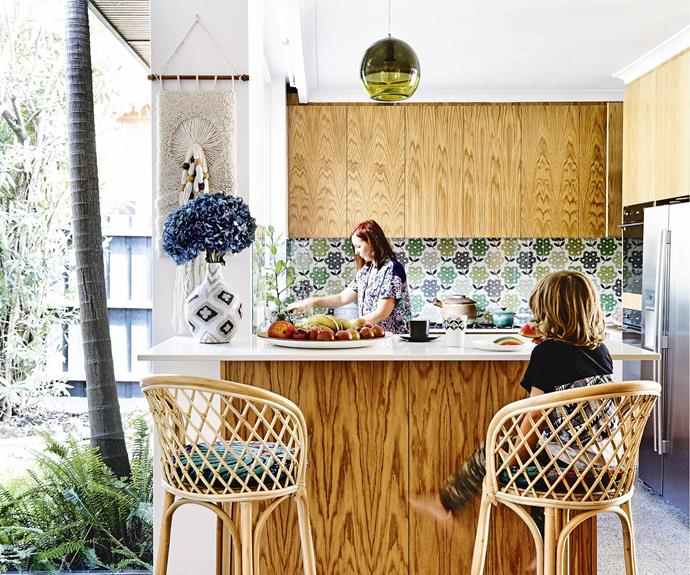A 1970s villa in Melbourne was given an eclectic revamp