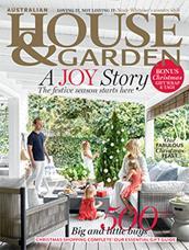 Australian House and Garden magazine cover