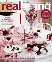 Real Living magazine cover