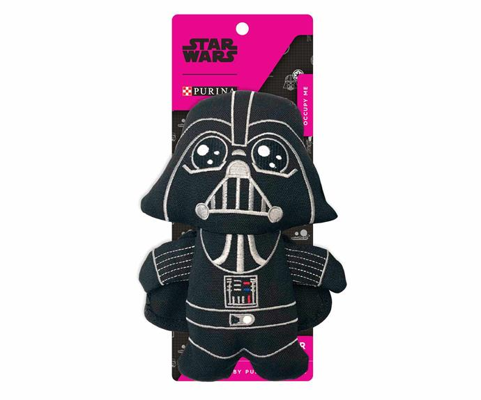 """Star Wars Purina Darth Vader™ Dog Toy, $14.99, [Big W](https://www.bigw.com.au/