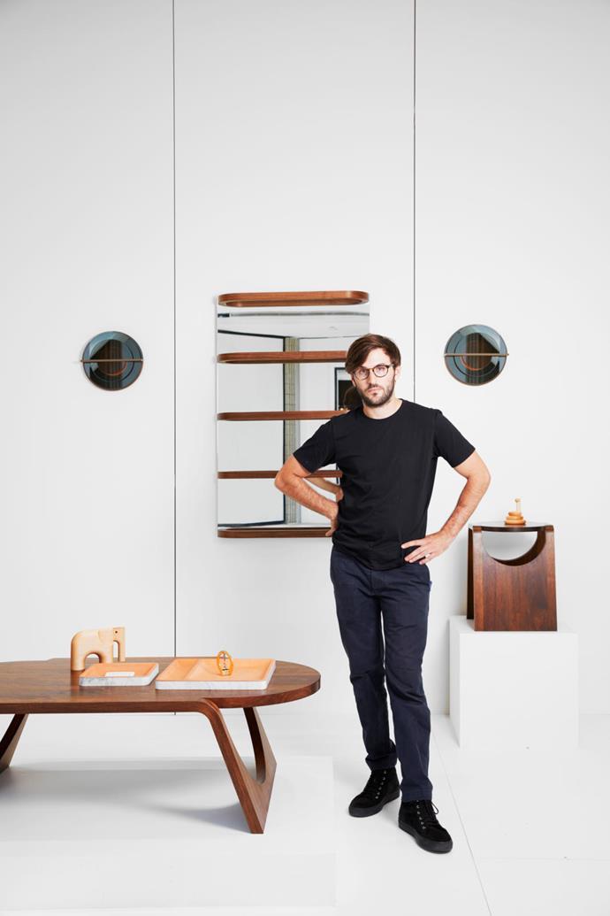 Joel Siegle of design practice Harold.