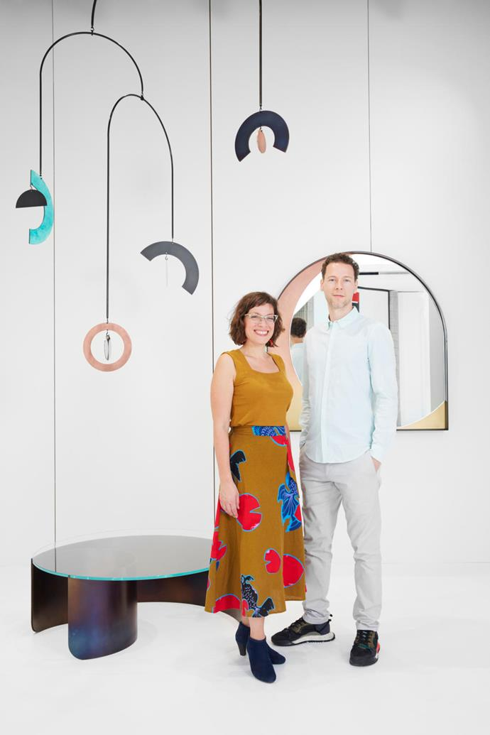 Kira DePaola and Joseph Vidich of Kin & Company